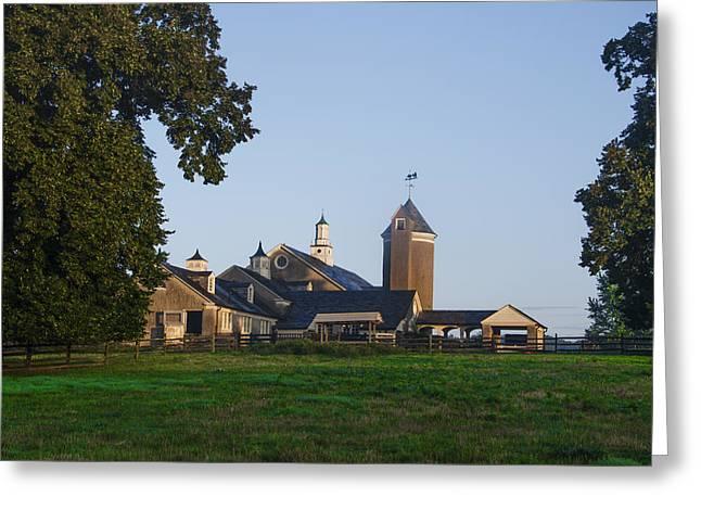 Whitemarsh Pa - Erdenheim Farm Greeting Card by Bill Cannon