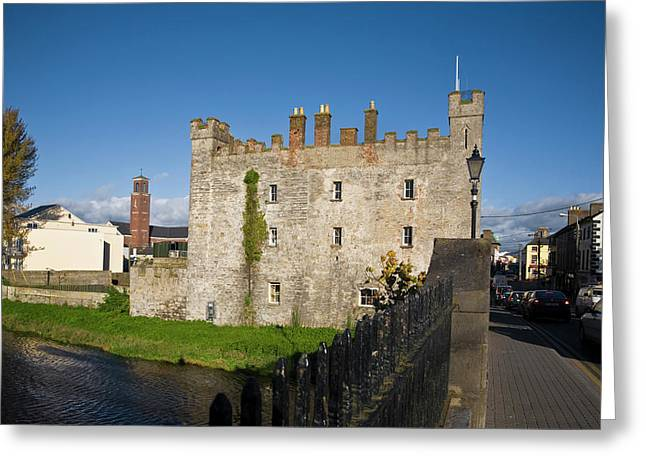 Whites Castle,bridge Over The River Greeting Card by Panoramic Images