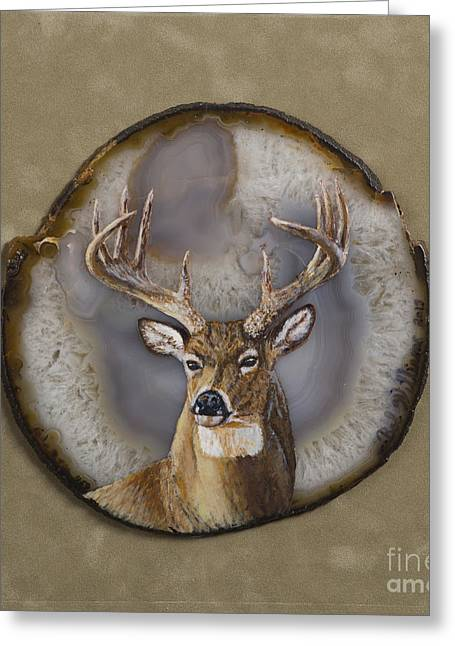 Whitetail Authority Greeting Card