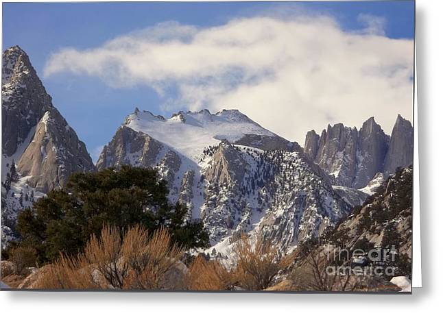 Whitney Portal - California Greeting Card by Glenn McCarthy Art and Photography
