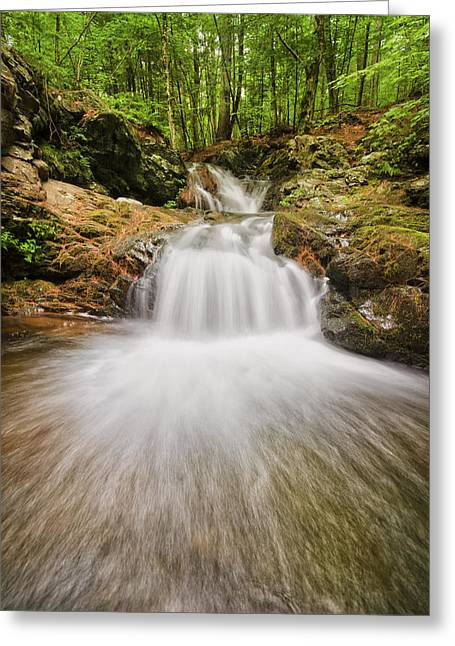 Whittier Falls Greeting Card