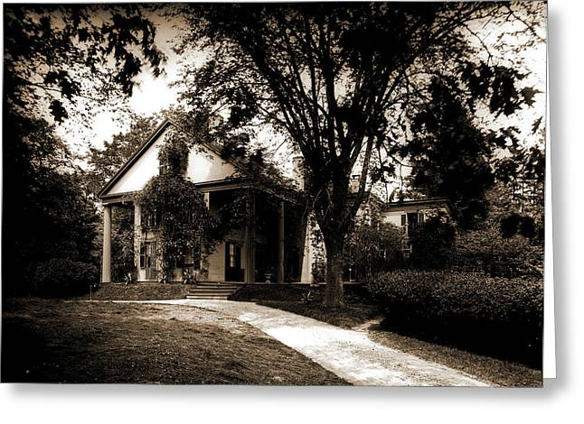 Whittiers House, Danvers, Whittier, John Greenleaf Greeting Card by Litz Collection