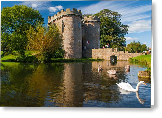 Whittington Castle Greeting Card by David Ross
