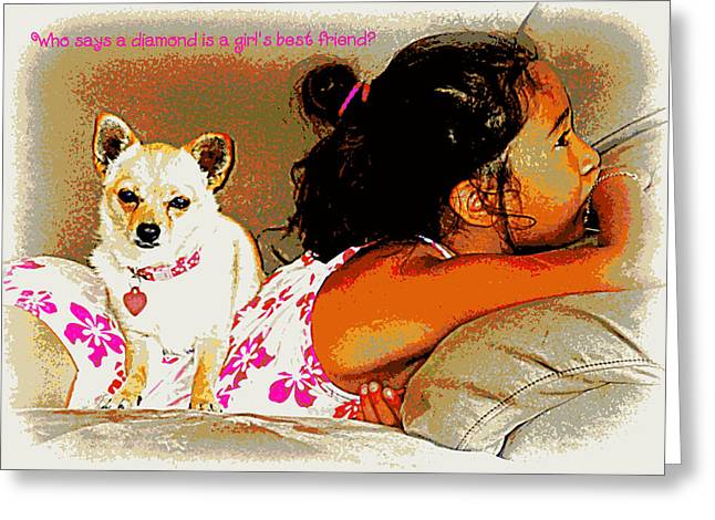 Who Says? Greeting Card by Heidi Manly