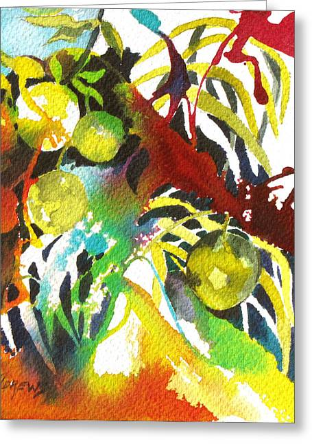 Who Wants Lemonade Greeting Card by Rae Andrews