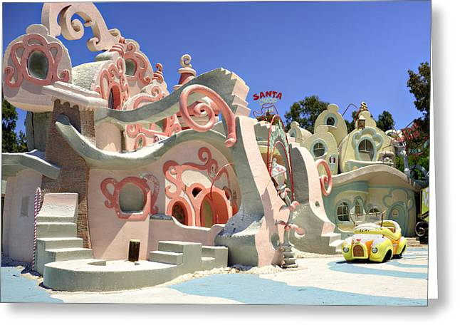 Whoville Greeting Card by Ricky Barnard