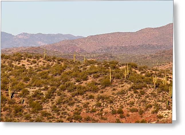 Wickenburg Mountains Greeting Card