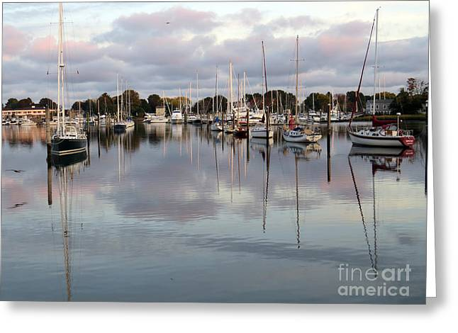 Wickford Evening II Greeting Card
