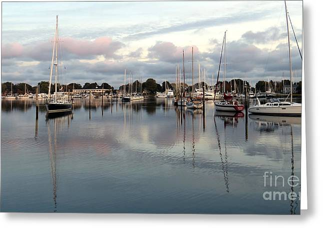 Wickford Evening Greeting Card