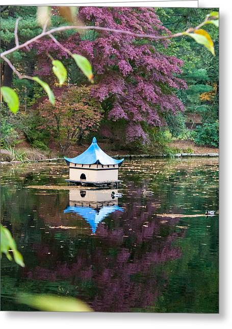 Wickham Oriental Pond Greeting Card