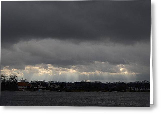 Wide View Greeting Card by Dennis James