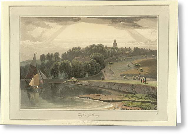 Wigton Harbour In Galloway Greeting Card