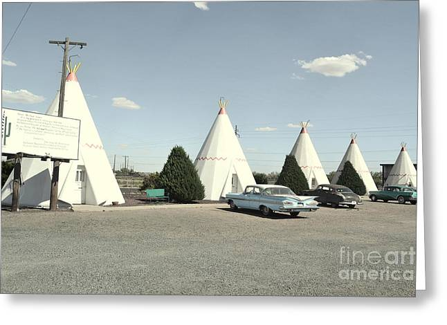 Greeting Card featuring the photograph Wigwams In Arizona by Utopia Concepts
