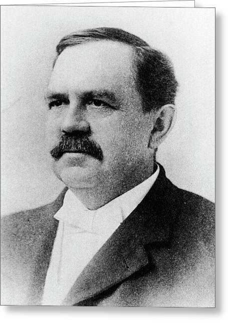 Wilbur Atwater Greeting Card by National Library Of Medicine
