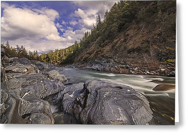 Wild And Scenic Scott River Greeting Card by Loree Johnson
