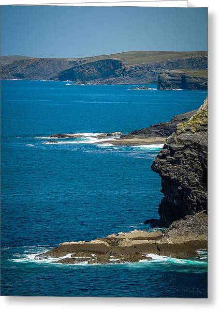 Wild Atlantic Coast Greeting Card