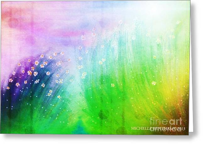 Wild Beauty Greeting Card by Michelle Bentham