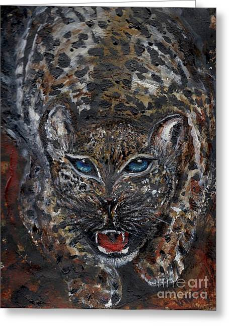 Wild By Nature Greeting Card
