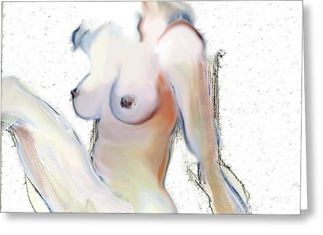Wild - Female Nude Greeting Card
