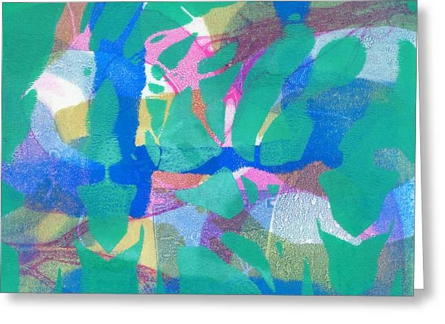 Wild Dance Greeting Card by Catherine Redmayne
