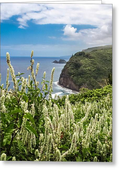 Wild Flowers At Pololu Greeting Card