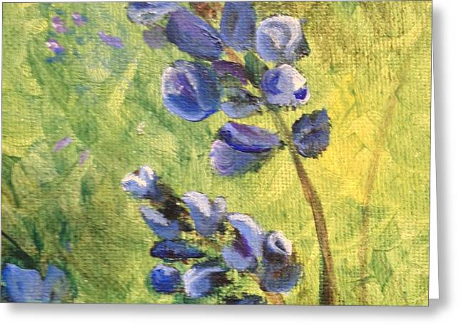 Wild Flowers Greeting Card by Laurianna Taylor