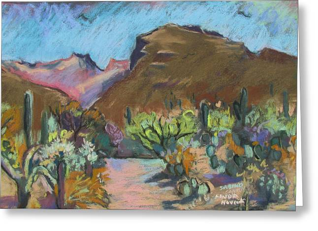 Wild Tuscon Greeting Card