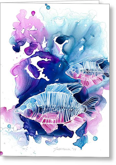 Wild Water Greeting Card