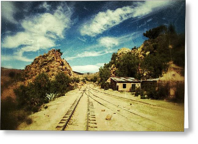 Wild Wild West Bolivia Retro Greeting Card by For Ninety One Days