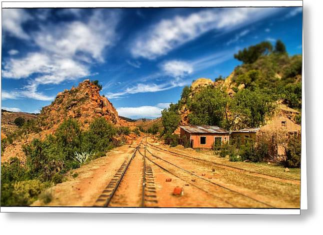 Wild Wild West Bolivia Tilt Shift Greeting Card by For Ninety One Days