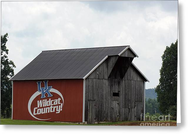 Wildcat Country Barn Greeting Card