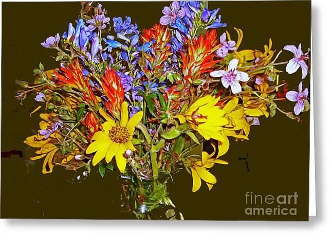 Wildflower Reminiscences Greeting Card