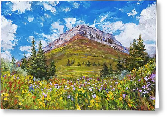 Wildflower Summer Greeting Card by Steven Boone