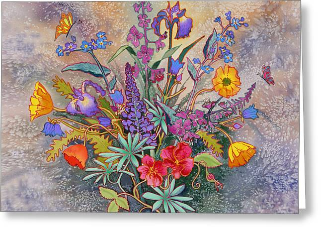 Wildflowers Of Alaska II Greeting Card