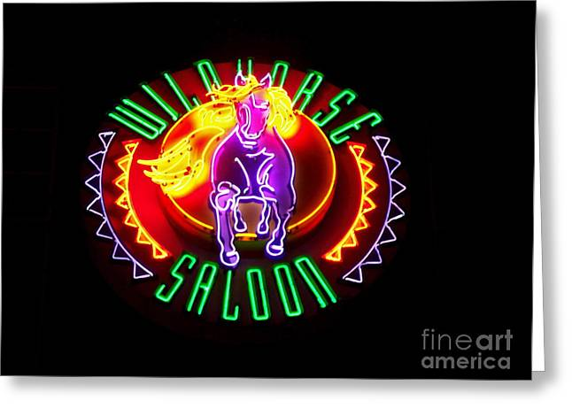 Wildhorse Saloon Greeting Card