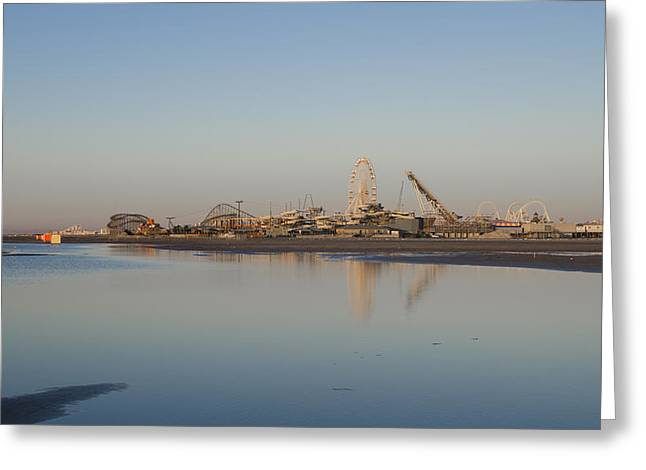 Wildwood By The Seaside Greeting Card by Bill Cannon