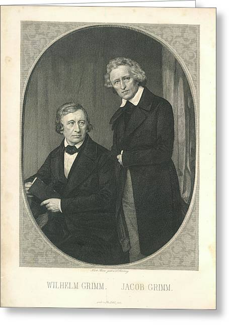 Wilhelm And Jacob Grimm Greeting Card