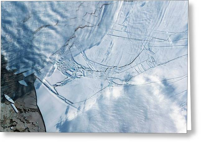 Wilkins Ice Shelf Greeting Card