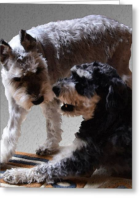 Will And Atticus Greeting Card