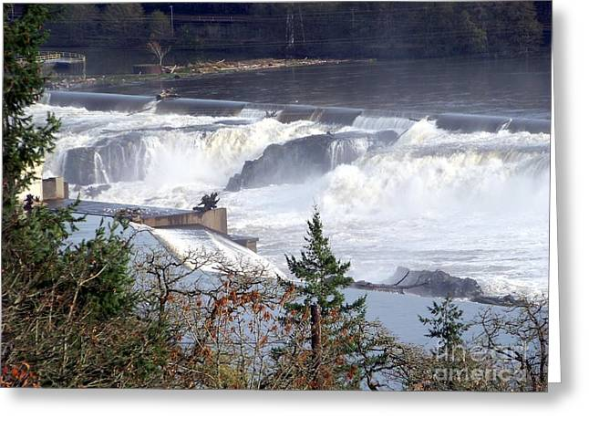 Willamette Falls Greeting Card