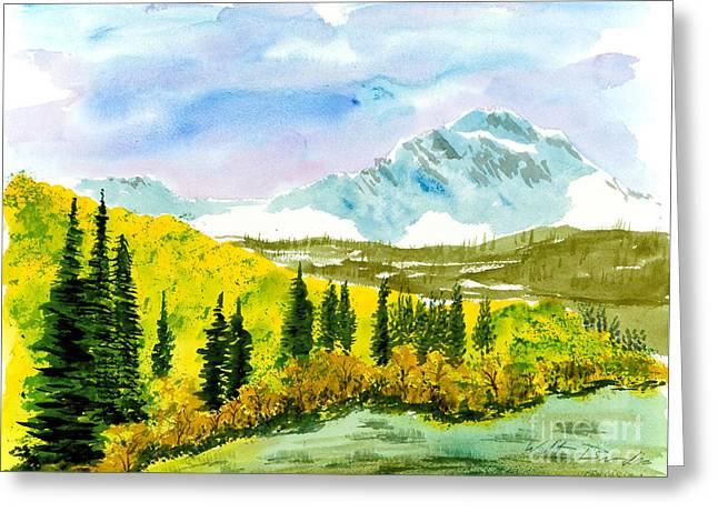 Willard Peak Greeting Card