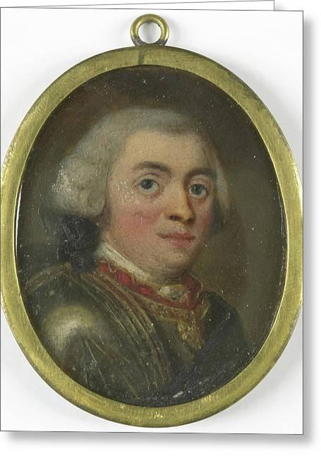 Willem Iv, 1711-51, Prince Of Orange Nassau Greeting Card