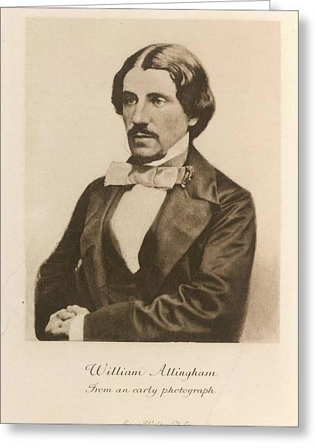 William Allingham Greeting Card