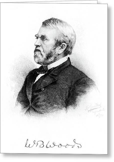 William Burnham Woods (1824-1887) Greeting Card by Granger