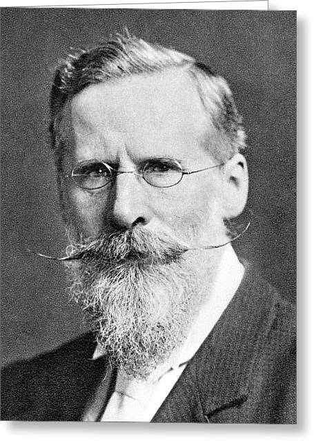 William Crookes Greeting Card by Science Photo Library