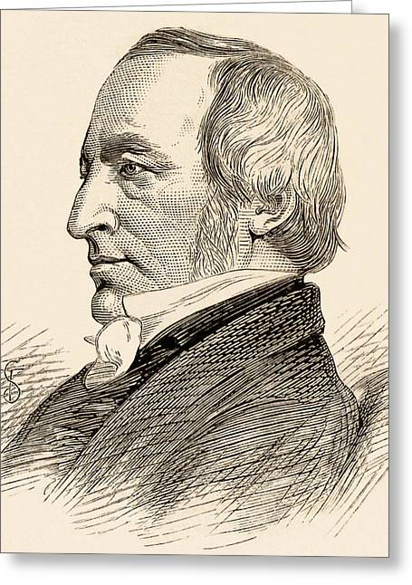 William Daniel Conybeare Greeting Card