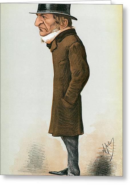 William Ewart Gladstone (1809-1898) Greeting Card by Granger