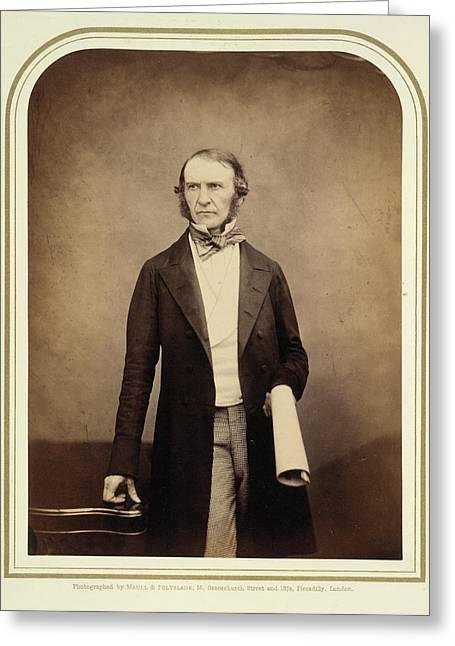William Ewart Gladstone Greeting Card by British Library