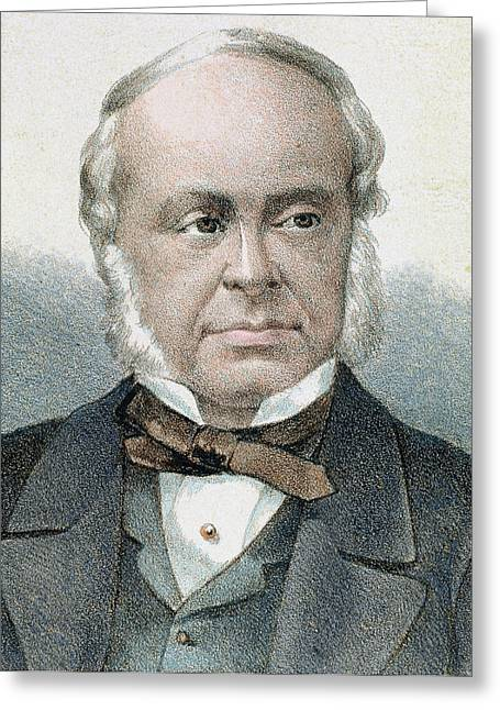 William Ewart Gladstone (liverpool Greeting Card by Prisma Archivo