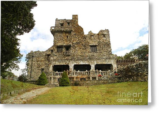 William Gillette Castle Greeting Card